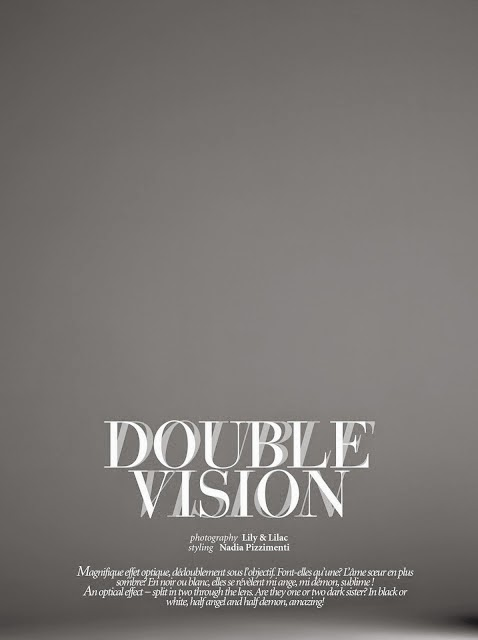 """""""Double Vision"""" for Dress To KILL magazine"""