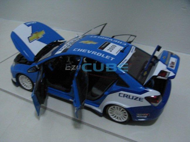 accessories chevrolet cruze wtcc diecast toy car 1 18 chevrolet cruze ...