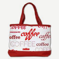 Magic Coffee Fonts Shoulder Bag