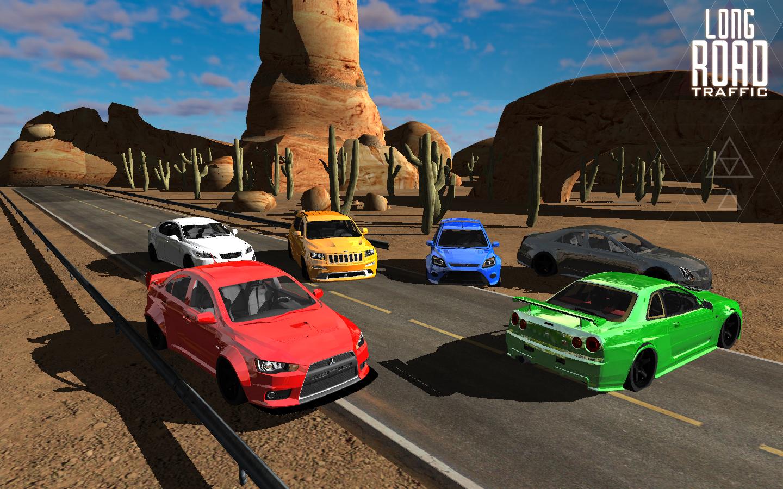 Long road traffic racing 3D v1.10 [Link Direto]