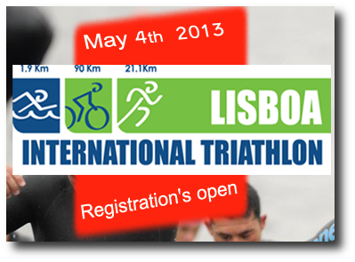 FINISHER LISBOA TRIATHLON (1/2 IRONMAN) - MAY 2013