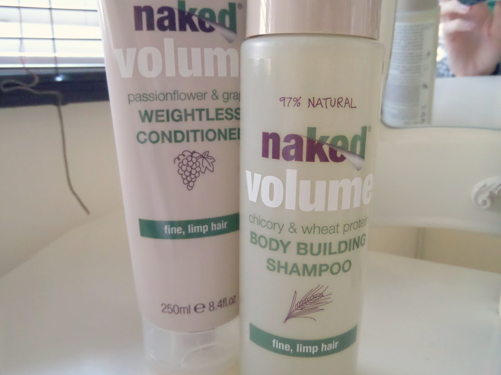 Naked Volume Body Building Shampoo & Weightless Conditioner