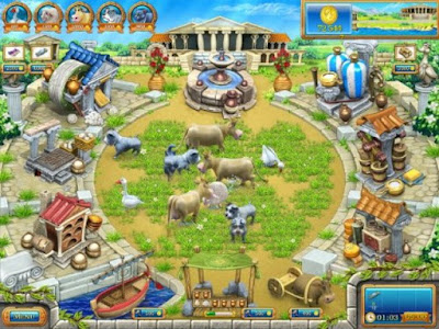Farm Frenzy Ancient Rome PC Games windows