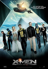 Afiche X Men First Class