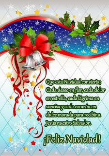 Tarjetas de Navidad con Frases, parte 1