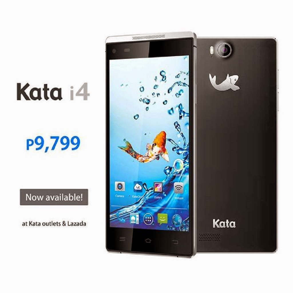 Kata i4 Is Now Available Via Lazada And Kata Outlets, Priced At Php 9,799