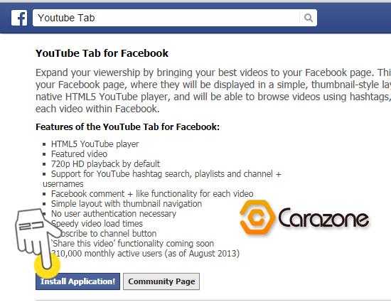 Cara Mengintegrasikan Youtube Pada Fanpage Facebook Terbaru