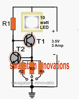 Current Controlled CREE XM-L T6 LED Driver Circuit