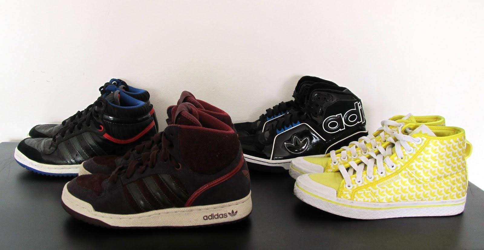 8982dfe2d69 Nesse segundo grupo de tênis todos são Adidas Originals