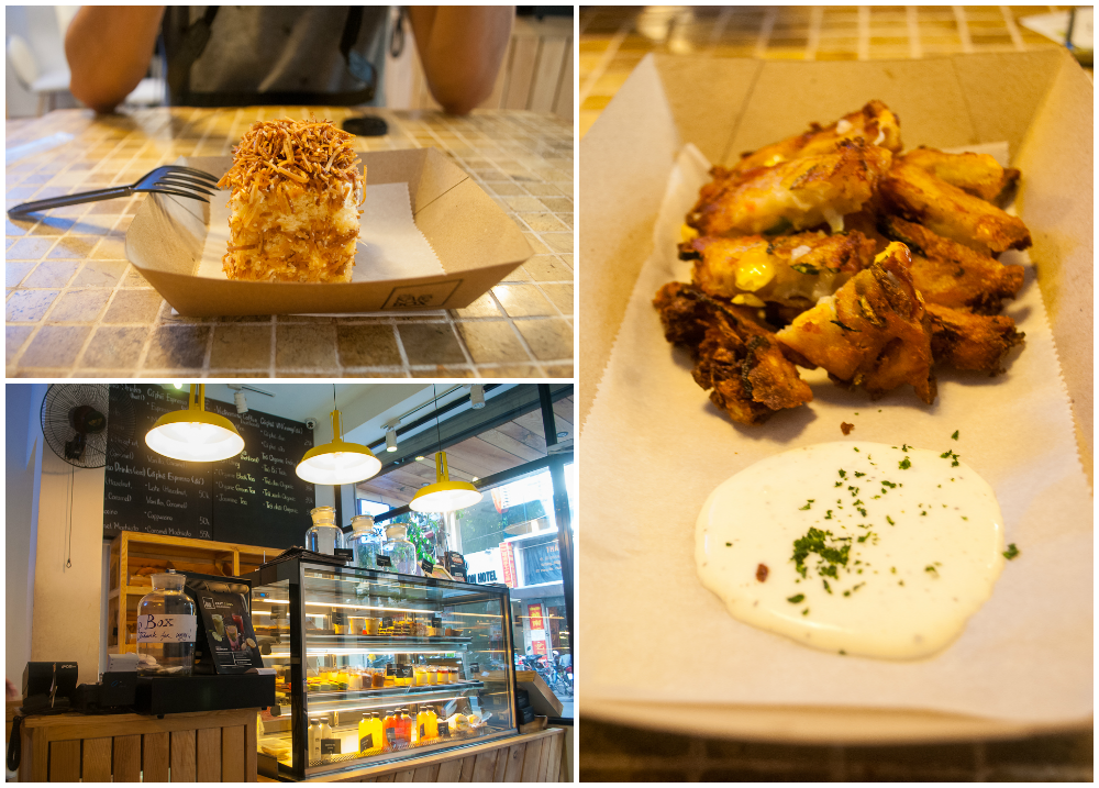 great food in kafe box - cafe in hanoi