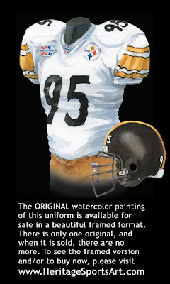 Pittsburgh Steelers 2005 uniform