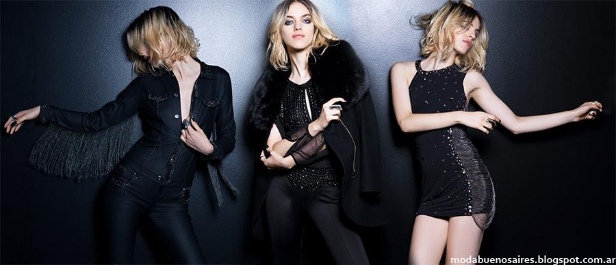 MODA: Moda invierno 2015 Rosh. Tendencias de Moda Noche, estilo casual juvenil. Moda otoño invierno 2015 Mujer.