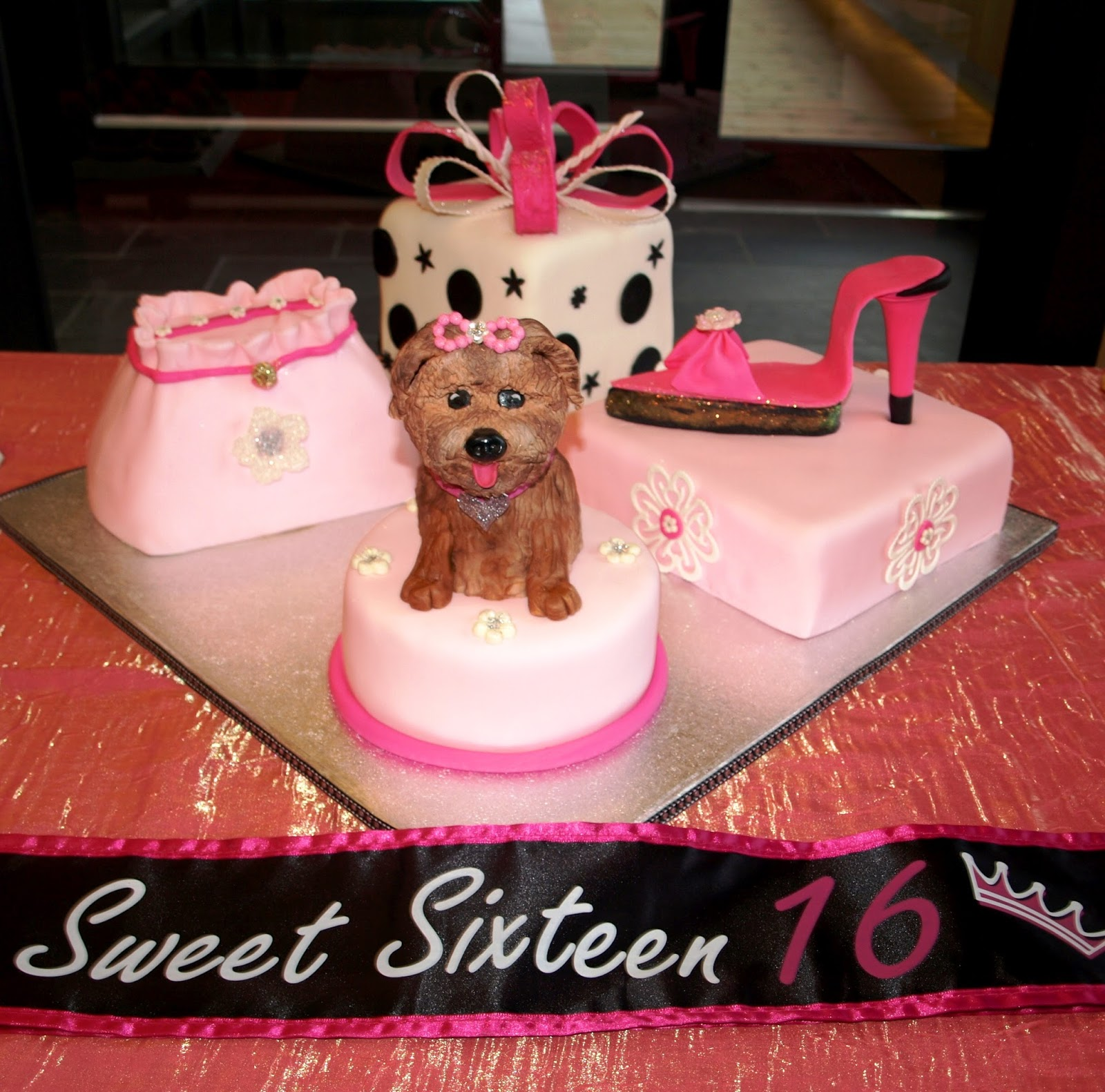 Sweet 16 Birthday Cake - Birthday