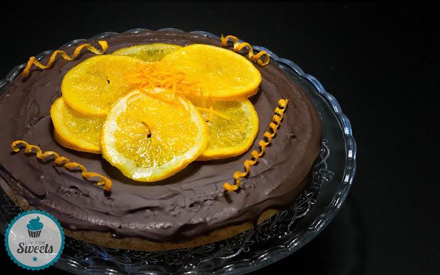 riesen Jaffa-Cake, riesen Softcake, Kuchen, Biskuit, Orangengelee, Zartbitterschokolade, Orange, Rezept