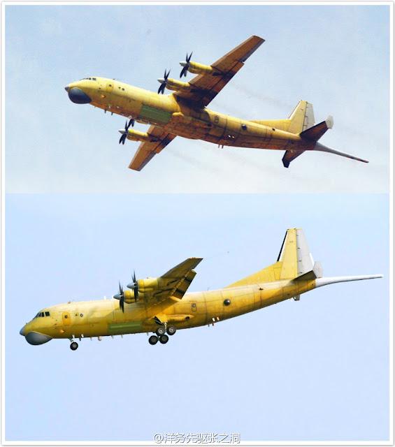 Y-8FQ Maritime Surveillance Aircraft