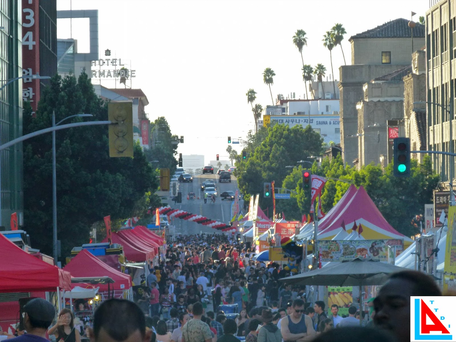 things to do in los angeles: ktown night market halloween food fest