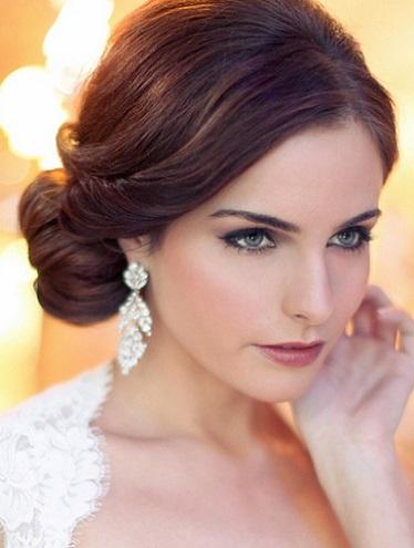 Mujer estilo y belleza mo os y recogidos para novias 2015 - Monos bajos novia ...