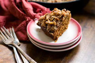 dr pepper oatmeal cake with coconut