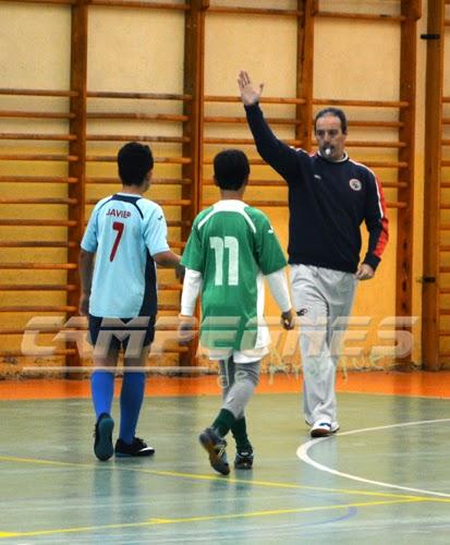 Arbitro de fútbol-sala Aranjuez deporte escolar