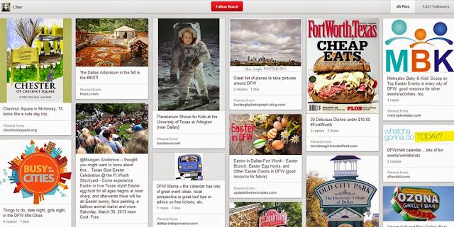 Texas - DFW, Travel, Pinterest Board