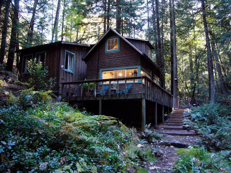 Creekside Cabin, Northern California