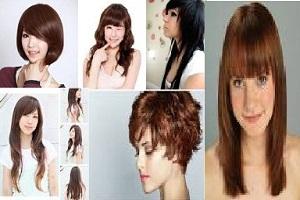 Bentuk gaya model rambut terbaru sesuai bentuk wajah