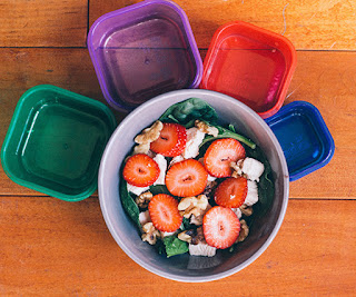 21 day fix recipes, 21 day fix salad, 21 Day fix meal plans, spinach salad