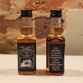 Need Wedding Favors?: Personalized Jack Daniels Mini Bottle Wedding ...