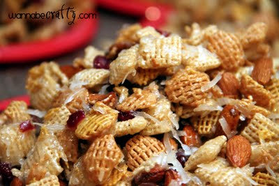 Be Different...Act Normal: Dessert Chex Party Mix Recipe