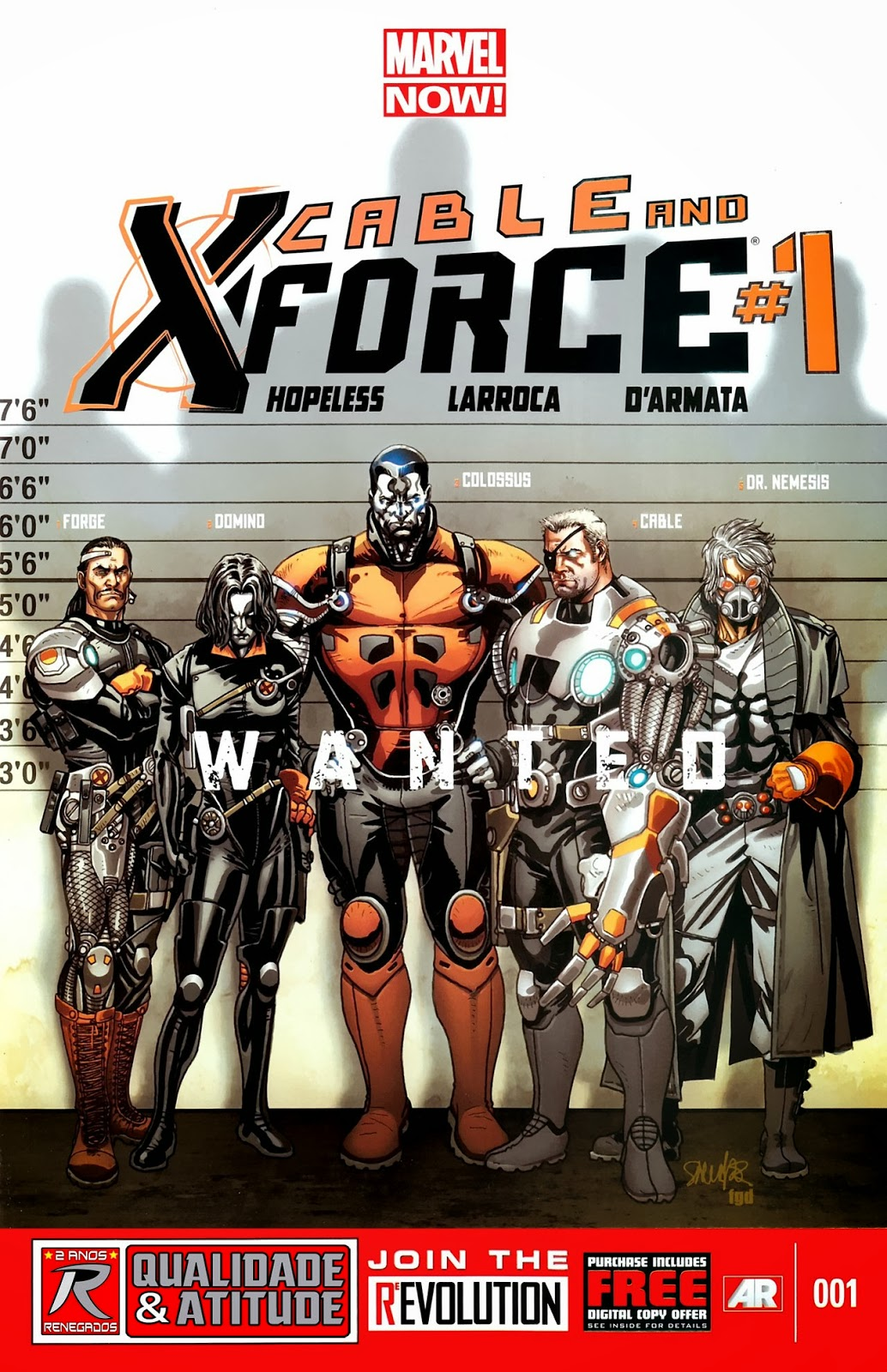 Nova Marvel! Cable e a X-Force #1