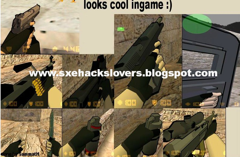 Download weapon pack for cs 1 6