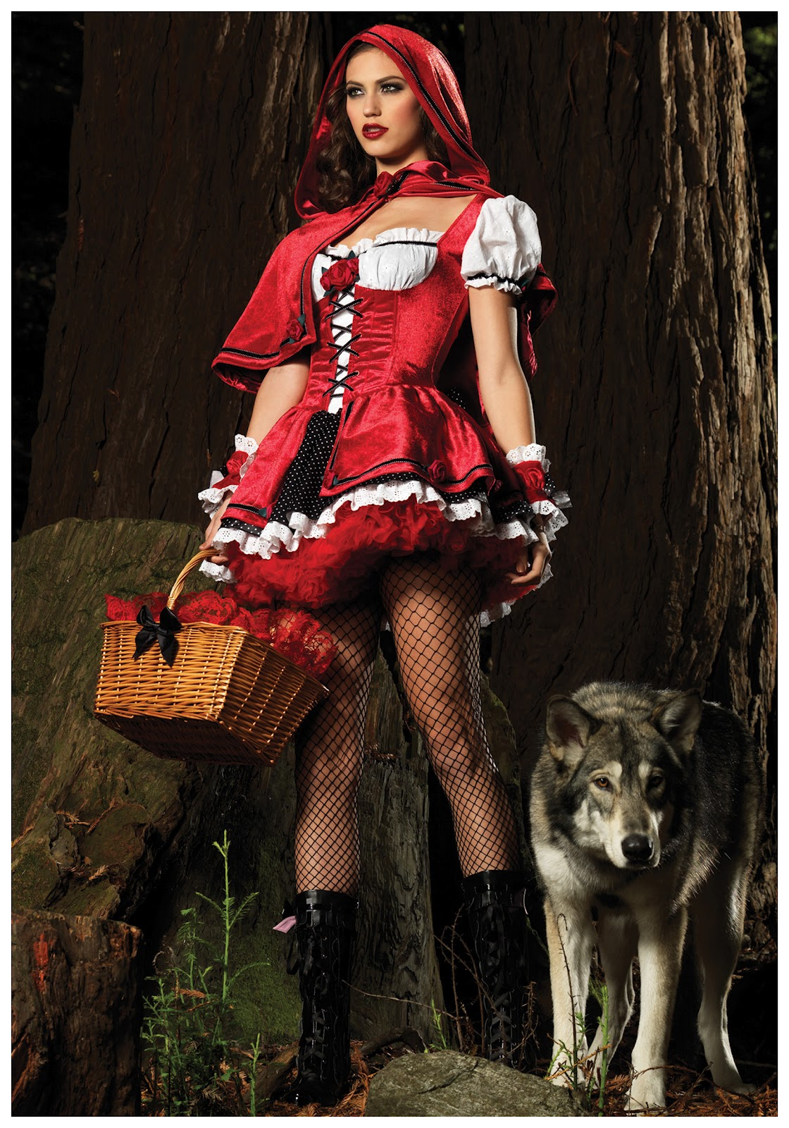 Bad Little Red Riding Hood Costume
