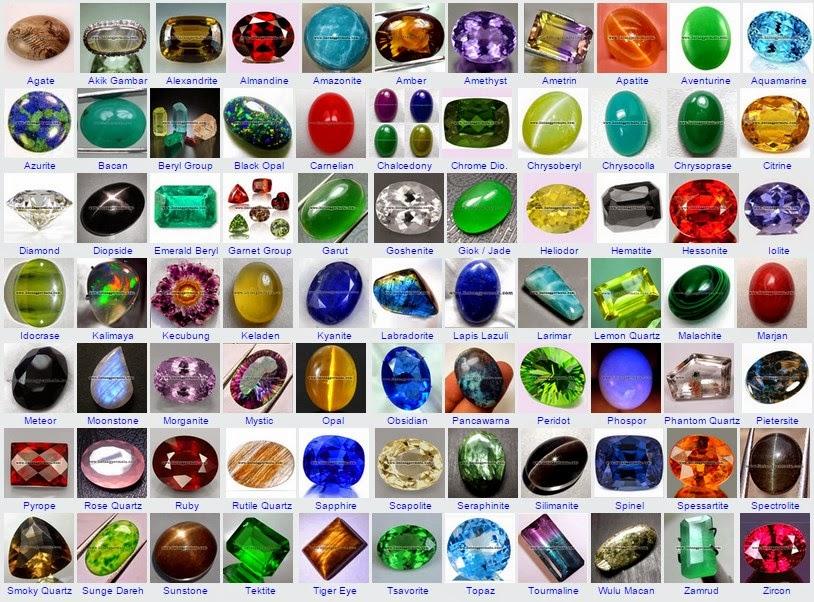 Jenis koleksi batu akik lengkap