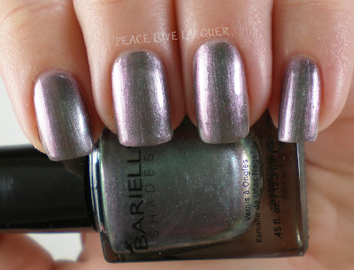Barielle, Wanna Samba, Metallic, Grey, Purple, Nail Polish