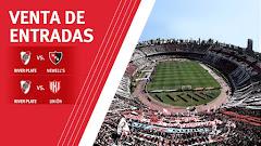 Venta de entradas para los dos últimos partidos del 2017 en el Estadio Monumental