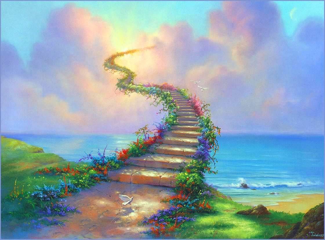Camino del nuevo mundo, conciencia despierta.