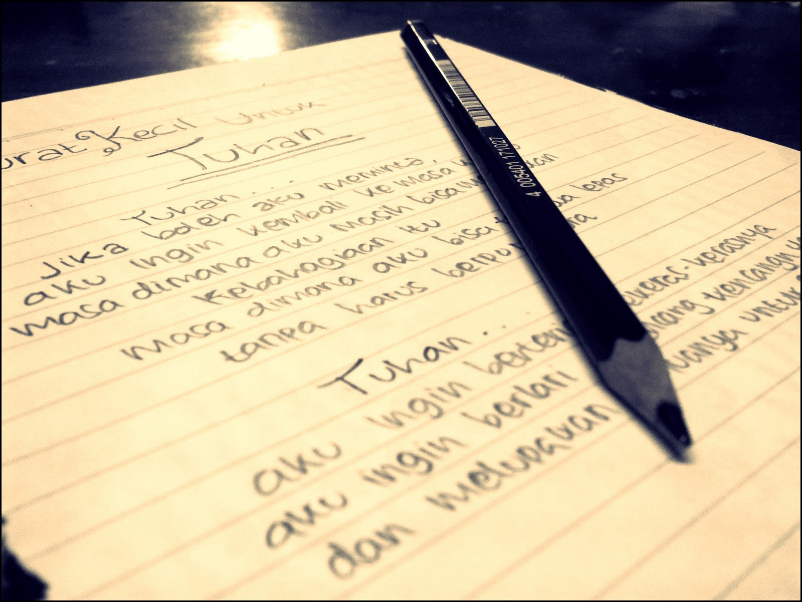 16+ Contoh surat cinta kepada tuhan yesus terbaru yang baik dan benar