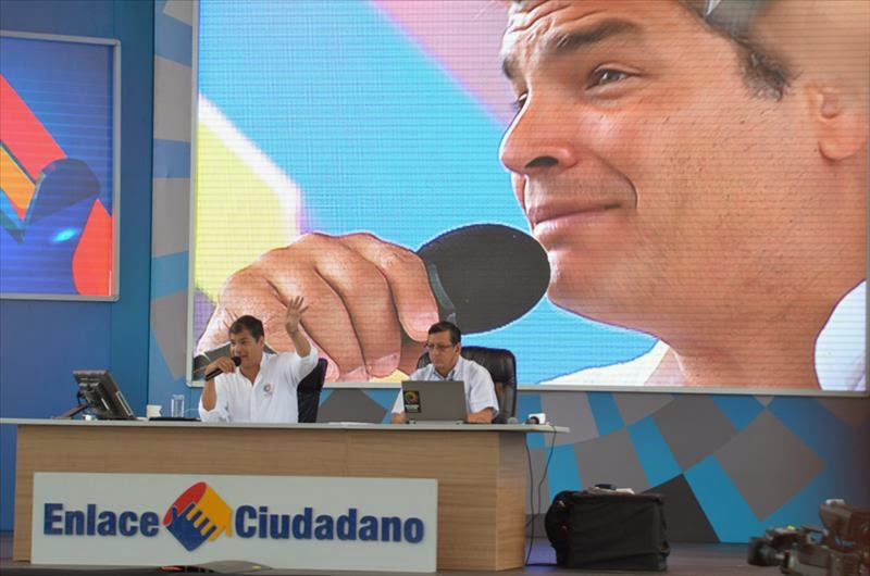 cadena sabatina de Correa 4 abril 2015