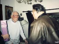 Voormalig oud-strijder/vuurkruiser Willy Van Elsen uit 1914-1918, vierde zijn eeuwfeest