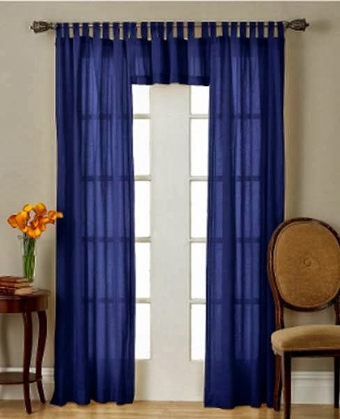 How to Make Tab-Top Curtains ~ Curtains Design Needs