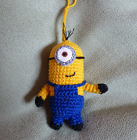 Free Crochet Batman Minion Pattern : Minion crochet pattern Free Amigurumi Patterns Bloglovin