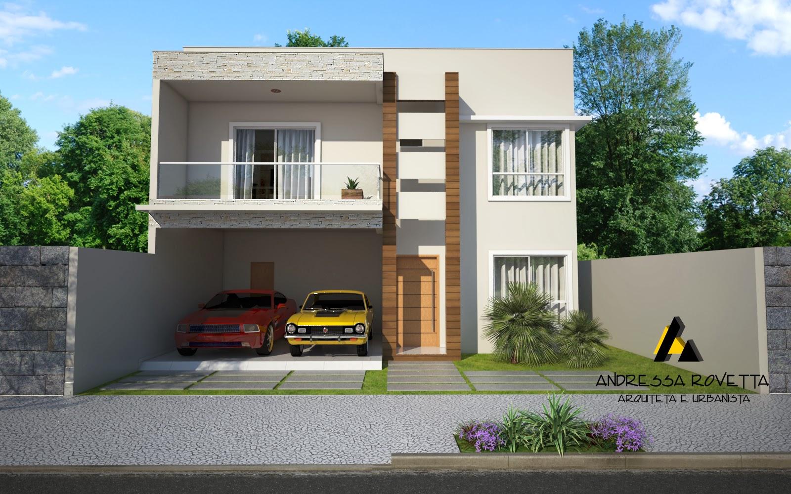 Construindo um duplex financiado vivendo um sonho fotos for Modelos de casas modernas economicas
