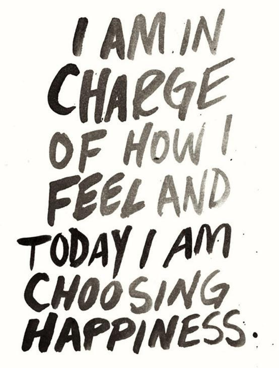 i am in charge of how i feel today and tomorrow -Inspirational Positive Quotes with Images