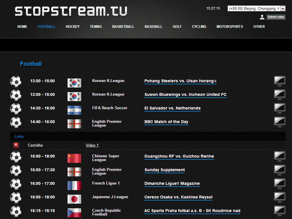 stopstream live football