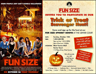 Fun+Size Free Fun Size Trick or Treat Scavenger Hunt-West Covina