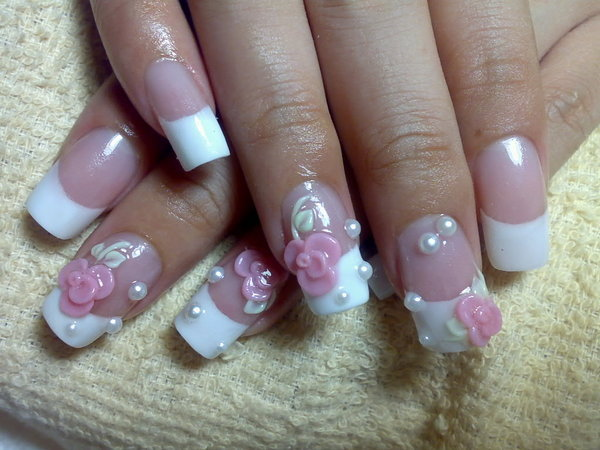 Nail Art Designs, Bridal Nail Art Designs, Wedding Nail Art Designs