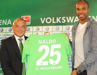 Naldo jogará pelo Wolfsburg