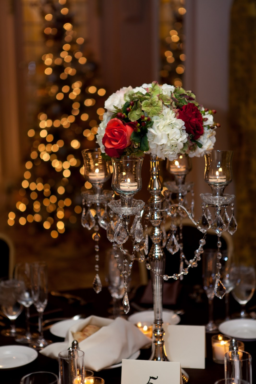 Flora Nova Design The Blog A Romantic December Wedding