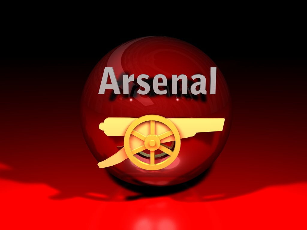 Arsenal wallpaper logo 3D