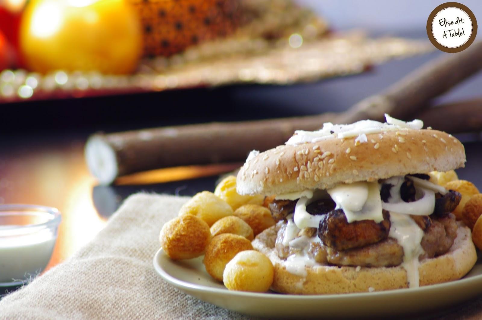 recette Hamburger à l'ossau iraty